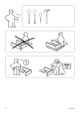 IKEA VANVIK QUEEN BED FRAME Assembly Instruction - 2