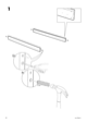 IKEA VANVIK QUEEN BED FRAME Assembly Instruction - 4