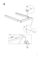 IKEA VANVIK QUEEN BED FRAME Assembly Instruction - 5