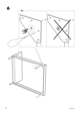 IKEA VANVIK QUEEN BED FRAME Assembly Instruction - 8