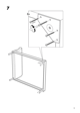 IKEA VANVIK QUEEN BED FRAME Assembly Instruction - 9