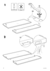 IKEA ASKVOLL bed frame Assembly Instruction - 4