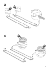 IKEA ASKVOLL bed frame Assembly Instruction - 5