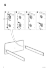 IKEA ASKVOLL bed frame Assembly Instruction - 6