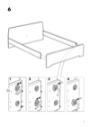IKEA ASKVOLL bed frame Assembly Instruction - 7