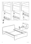 IKEA ASKVOLL bed frame Assembly Instruction - 8