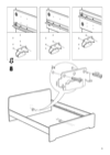 IKEA ASKVOLL bed frame Assembly Instruction - 9