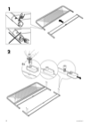 IKEA NESTTUN Bed frame Manual