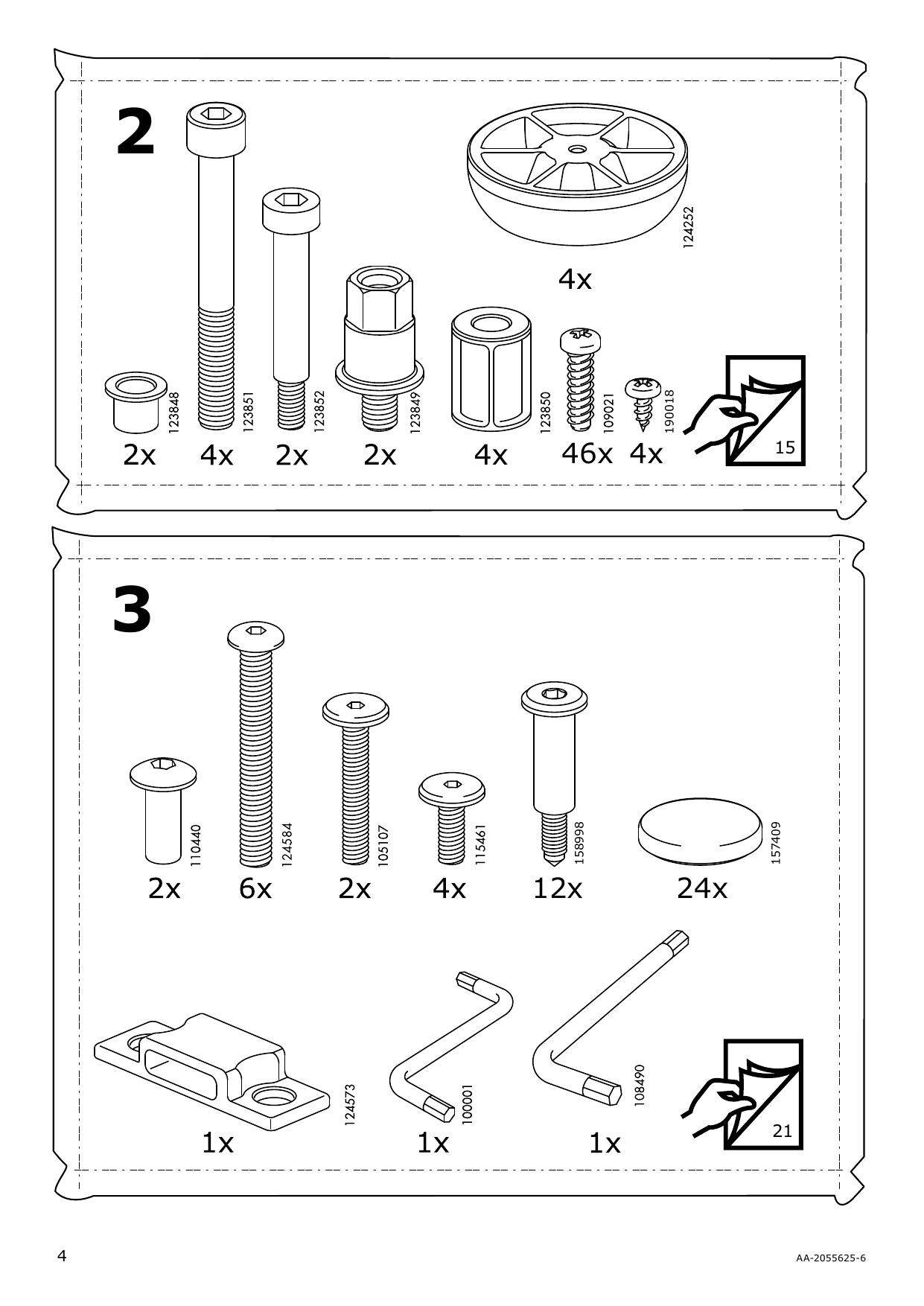 IKEA MALM Storage bed Assembly Instruction - 4