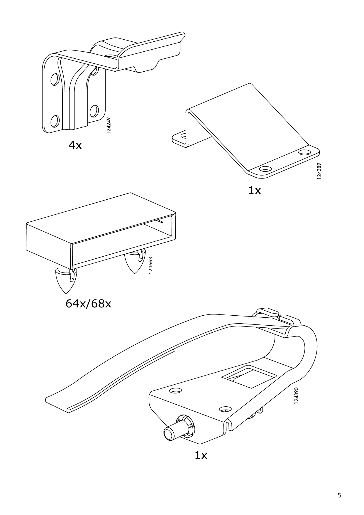 IKEA MALM Storage bed Assembly Instruction - 5