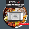 Instant Pot Gem Multicooker User