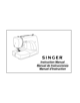Singer 3116 Simple Instruction Manual - 1