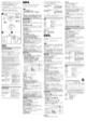 Sony BC-TRW Operating Instructions - 2