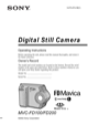 Sony MVC-FD200 Operating Instructions - 1