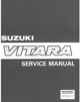 Suzuki GRAND VITARA - Service Manual - 1
