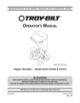 Troy-Bilt CS 4325 Chipper Shredder Owner